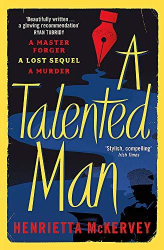 [画像:A Talented Man: A gripping suspense novel about a lost sequel to Dracula]