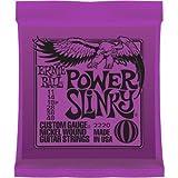 CUERDAS GUITARRA ELECTRICA - Ernie Ball (2220) Slinky Power/Color Violeta (Juego Completo 011/048E)