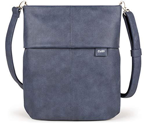 Zwei Mademoiselle M12 Handtasche, Canvas-blue (Blau),