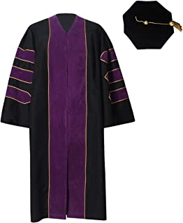doctoral tam and gown