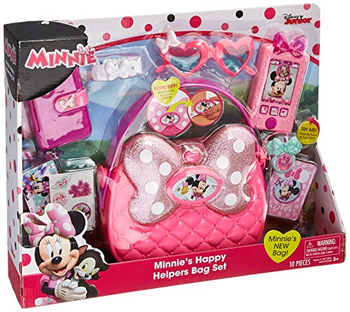 United Pacific Designs Minnie Mouse Happy Helpers Bag Set Standard