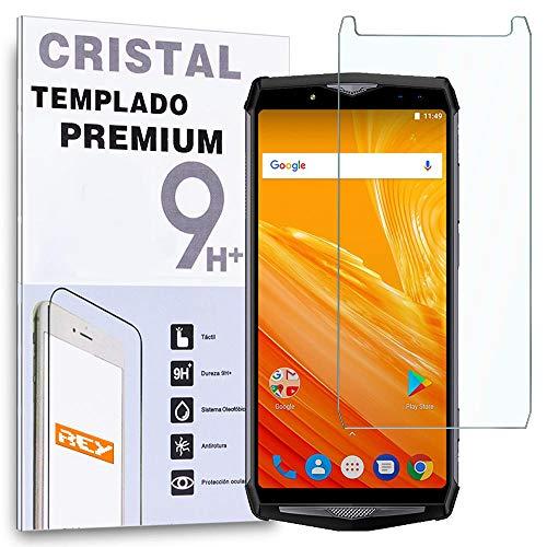 REY - Protector de Pantalla para ULEFONE Power 5, Cristal Vidrio Templado Premium