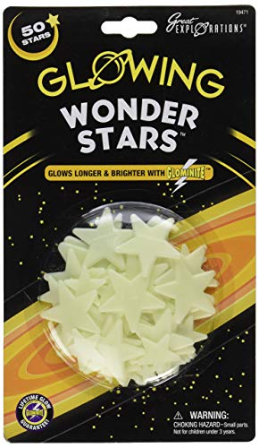 Great Explorations Glow In The Dark Wonder Stars (50 Stars)