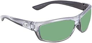 Costa Del Mar Saltbreak 580P Saltbreak, Silver Green Mirror, Green Mirror