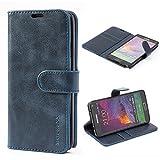 Mulbess Flip Samsung Galaxy Note 4 Case, Samsung Galaxy