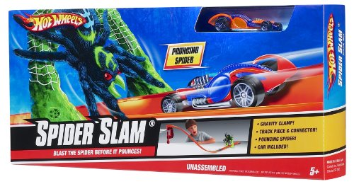 Mattel Hot Wheels Spider Slam Suivi de