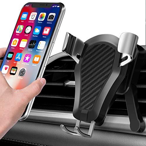 BRAINWIZZ Vent® - Supporto da Auto / Porta Cellulare Universale per iPhone, Smartphone Android / griglia di ventilazione / aerazione 360 iPhone 5S / iPhone 6 / Samsung Galaxy S3 e S4 e S5 / HTC One / Sony Xperia / Nokia / Huawei / Acer