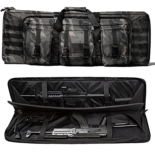 WolfWarriorX Double Long Rifle Gun Case Bag Tactical Carbine...
