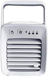 Mini Luftkonditionering USB-fläkt Luftkonditioneringsfläkt Mini Luftkonditionering Laddning Kylning Mute Bärbar kylare Lit...