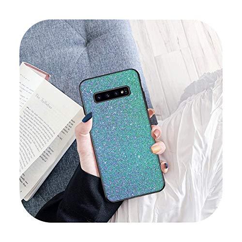Brillante Exquisita caja del teléfono para Samsung S6 S6 Edge S7 S7 Edge S8 Plus S9 Plus S10E S10 Lite S10 Plus cubierta caso suave TPU Back-B8-para Samsung S9
