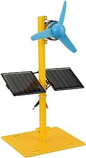 Amaae® Solar Power Generator DC Motor Mini Fan Panel DIY Science Education Model Kit(Color:Multicolor,Material:ABS)