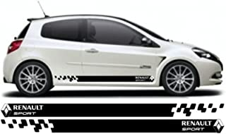 snstyling.com Renault clio Side Decal Sticker Stripe kit
