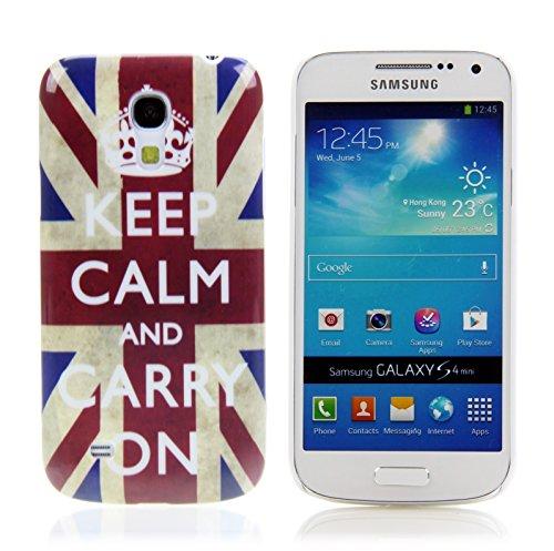 Handy Lux Schutz Hülle Etui Hard Case Cover Motiv für Motorola RAZR i XT890 - Carry on UK
