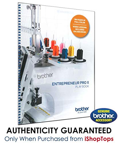 Review Brother PR1050X Entrepreneur PRO X Play Book | SAPRBOOK | Instructional Guide and Workbook w/...