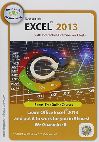 Price comparison product image Learn Microsoft Excel 2013 Interactive Training CD Course