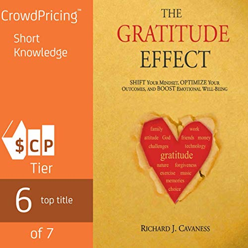 Page de couverture de The Gratitude Effect: Shift Your Mindset, Optimize Your Outcomes, and Boost Emotional Well-Being