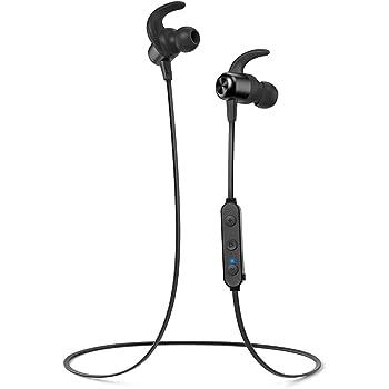 TaoTronics Cuffie Bluetooth Sport 5.0 Magnetiche Cancellazione del Rumore CVC 6.0 Auricolari Bluetooth Senza Fili Ultraleggere IPX6 Impermeabili Riproduzione di 20 Ore Microfono MEMS
