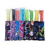 Fitzl Strong 8pc Popsicle Holders for Kids - Neoprene...