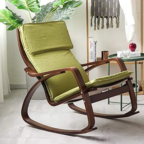Stoel LKU Home balkon lounge stoel schommelstoel woonkamer stoffen lunchstoel stoel zwangere vrouw, Sparks Fy 6