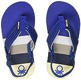 United Colors of Benetton Boy's Royal Blue Flip-Flops-4 UK (23 EU)