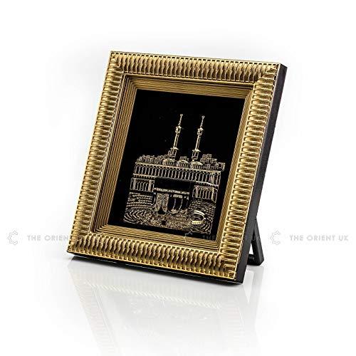 3D Kaaba Frame 18x20 Gold Home Office Decoration Hajj Umrah Eid Ramadan Islamic Gift