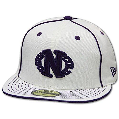 Dark N' Cold Egg Logo Baseball Cap White Purple
