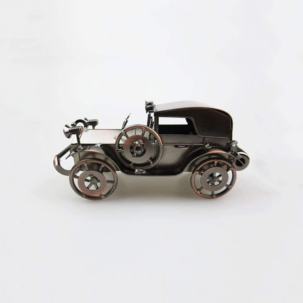 HJHJK Classic Car Factory outlet Ornaments Wrought Crafts Model Iron Metal Don't miss the campaign