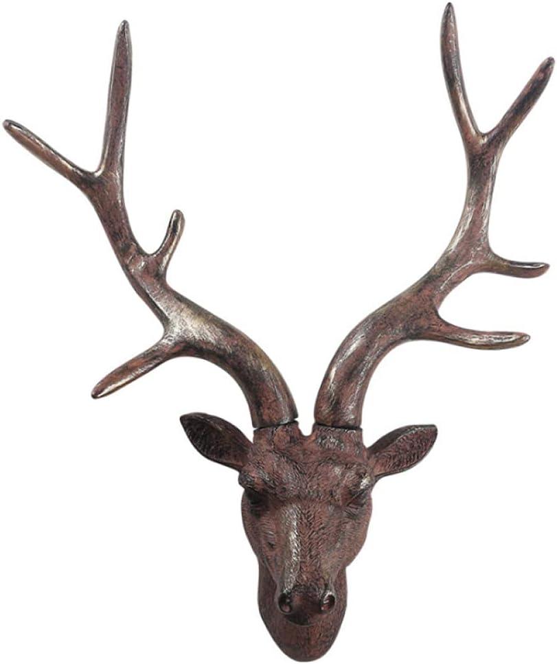 ZQQQC Statue Beauty products Mural Sculpture Sculptures Head Seasonal Wrap Introduction Deer
