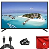 Sansui 43-Inch 1080p FHD DLED Smart TV (S43P28FN) Slim, Lightweight, Built-in HDMI, USB, High Resolution, Digital Noise Reduction Bundle with Circuit City 6-Feet 4K HDMI Cable and Accessories