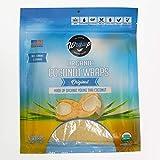 Organic Coconut Wraps, Original 1 Package (Raw,...