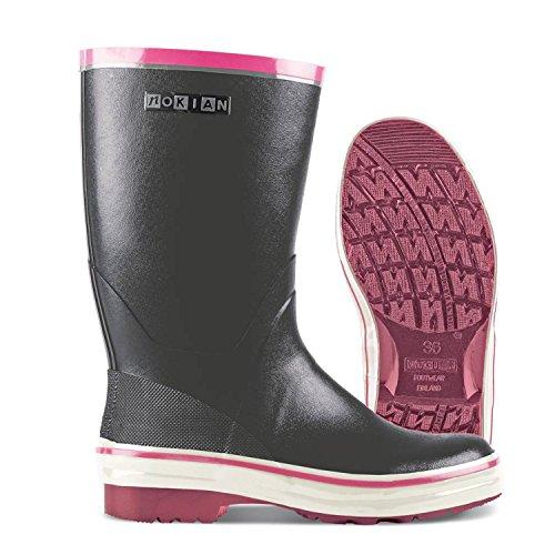 Nokian Footwear - Gummistiefel -Street- (Everyday) Grau/Rosa, Größe 37 [468-121-37]