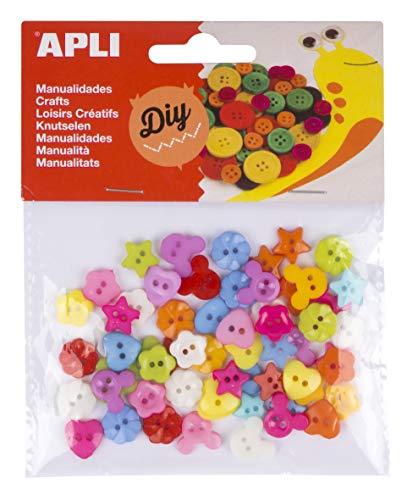 APLI Kids- Material para Manualidades, Color Surtido (16835)