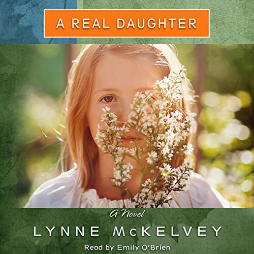 A Real Daughter audiobook cover art