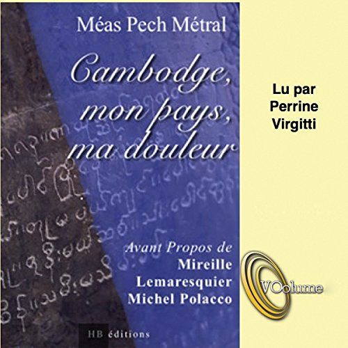 Cambodge, mon pays, ma douleur cover art