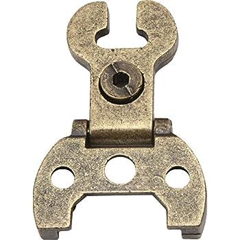 di/ámetro 35 mm con remates Imex El Zorro 78057 El Zorro 78057-Bisagra cazoleta