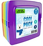 Healthy Packers Cool Pack, Slim Ice Pack for Lunch Box - Quick Freeze and Long-Lasting - Freezer...