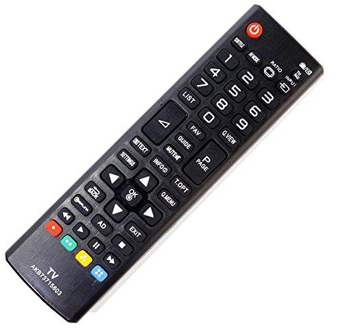 ALLIMITY AKB73715603 Reemplace el Ajuste del Mando a Distancia para LG 42LN540B 32LN540B 32LN520B 32LN5400 39LN5400 37LN540B 42PN450B 32LN550B 50LN5400 47LN540B 42LN5400 50PN450B 42LN550B