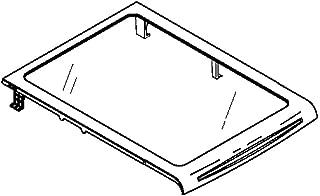 Ge WR32X22844 Refrigerator Freezer Glass Shelf Genuine Original Equipment Manufacturer (OEM) Part