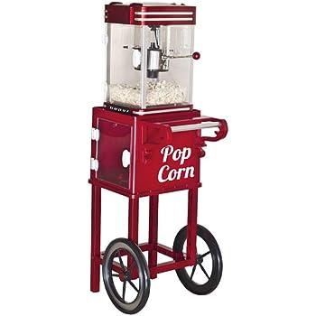 Beper BT.650Y Máquina para hacer palomitas con carrito: Amazon.es: Hogar