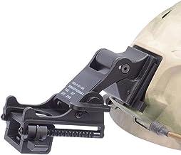 LIVIQILY Tactical Sports Helmets Mounting Bracket for Rhino NVG PVS-14/PVS-7 Night Vision Fast ACH PASGT MICH Helmets M88 (Black)