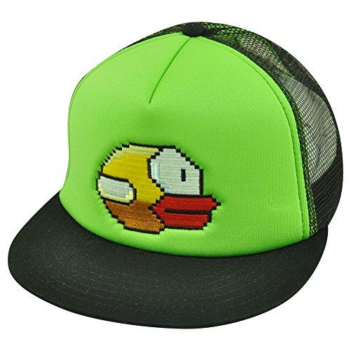 Flappy Bird Yellow Bird Snapback Casquettes de Camionneur