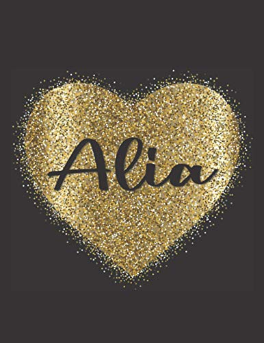 ALIA LOVE GIFTS: Novelty Alia Present for Alia Personalized Name, Cute Alia Gift for Birthdays, Alia Appreciation, Alia Valentin