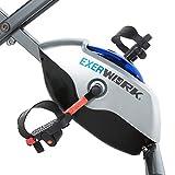 Exerpeutic EXERWORK 1000 Klappbarer Liege-Heimtrainer mit verstellbarer Arbeitsfläche. Trainieren Sie während Sie arbeiten! - 15