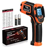 KIZEN Infrared Thermometer Gun (NOT for Humans) - LaserPro LP300 Non-Contact...