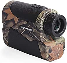 Wosports Hunting Range Finder, 700 Yards Archery Laser Rangefinder for Bow Hunting with Flagpole Lock - Ranging - Speed and Scan