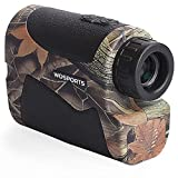 Wosports Hunting Range Finder, 650 Yards Archery Laser Rangefinder for...