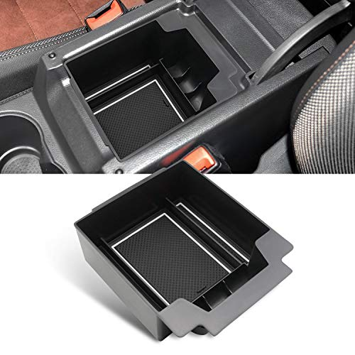 Control Console Storage box LFOTPP Scatola di immagazzinaggio del bracciolo per Ateca Blu