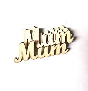 Mum Sign Letters Wall Sticker Happy Mothers Day Indoor Outdoor Decor