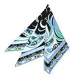 EMILIO PUCCI(エミリオプッチ)スカーフ レディース プッチ柄シルクスカーフ(サイズ90×90cm)eep19w117 JR509 1 ブルー