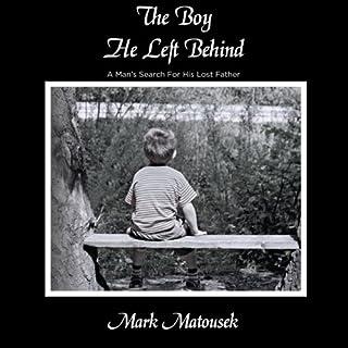 The Boy He Left Behind audiobook cover art